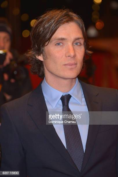 Actor Cillian Murphy attends the 'The Party' premiere during the 67th Berlinale International Film Festival Berlin at Berlinale Palace on February 13...
