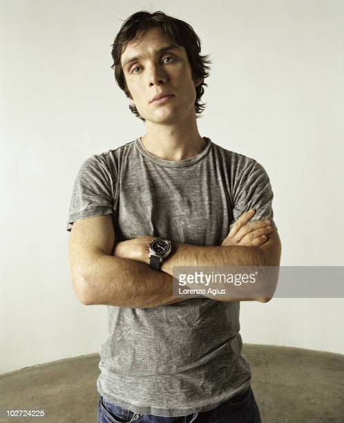 Actor Cillian Murphy poses for a portrait shoot in Los Angeles USA