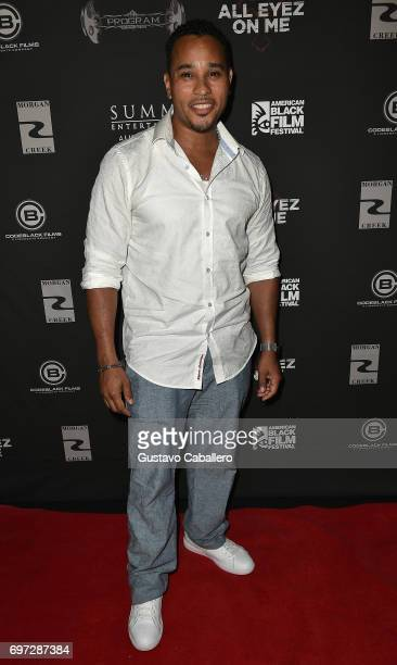 Actor Cisco Reyes attends the All Eyez on Me ABFF Screening at Regal South Beach Cinema on June 16 2017 in Miami Florida