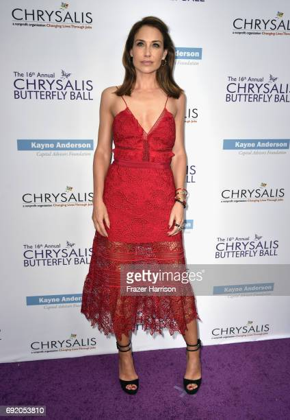 Actor Claire Forlani attends the 16th Annual Chrysalis Butterfly Ball at Private Residence on June 3 2017 in Brentwood California