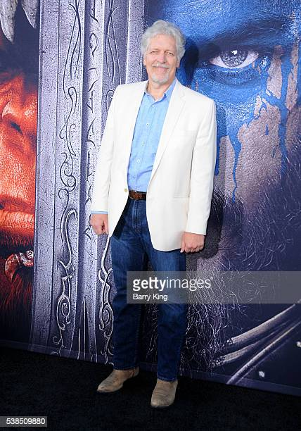 Actor Clancy Brown attends the premiere of Universal Pictures' 'Warcraft' at TCL Chinese Theatre IMAX on June 6 2016 in Hollywood California