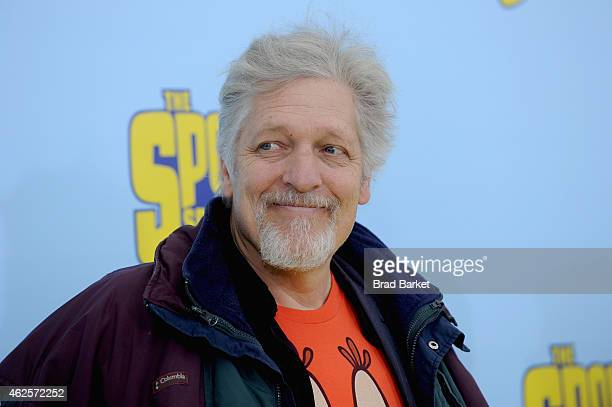 Actor Clancy Brown attends 'The Spongebob Movie Sponge Out Of Water' world premiere at AMC Lincoln Square Theater on January 31 2015 in New York City