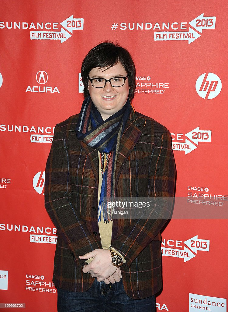 Actor <a gi-track='captionPersonalityLinkClicked' href=/galleries/search?phrase=Clark+Duke&family=editorial&specificpeople=4421234 ng-click='$event.stopPropagation()'>Clark Duke</a> attends the 'A.C.O.D.' Premiere during the 2013 Sundance Film Festival at Eccles Center Theatre on January 23, 2013 in Park City, Utah.