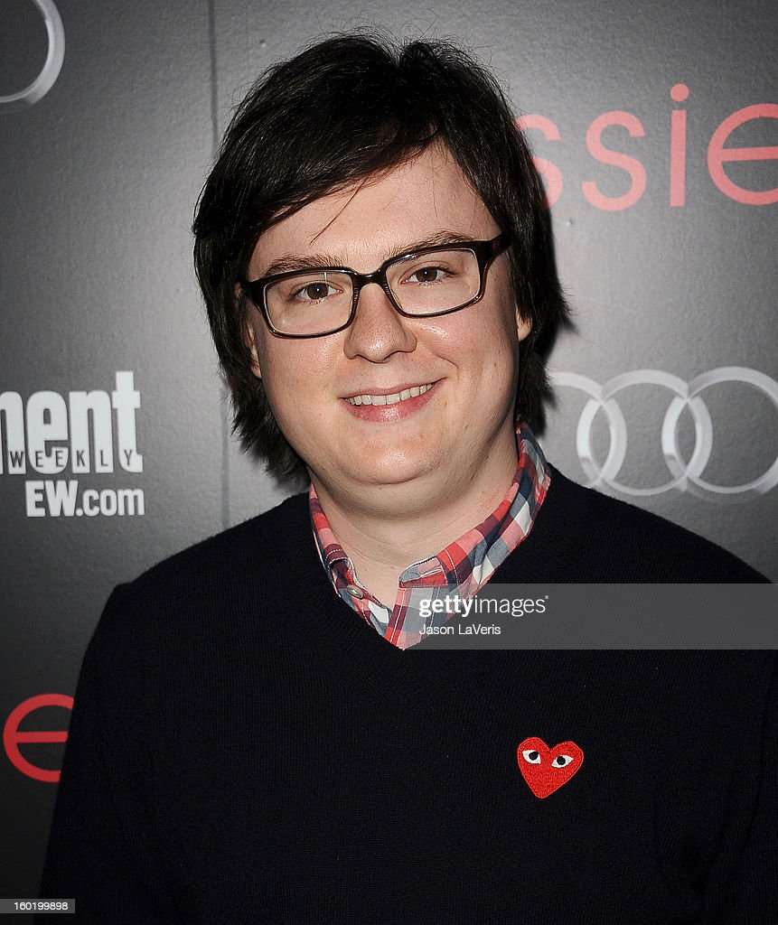 Actor Clark Duke attends the Entertainment Weekly Screen Actors Guild Awards pre-party at Chateau Marmont on January 26, 2013 in Los Angeles, California.