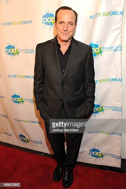 Actor Clark Gregg arrives at The Women's Club of Hollywood for Operation Dream Tree Benefiting Children In Hollywood on October 24 2013 in Los...