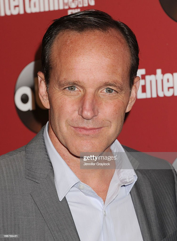 Actor <a gi-track='captionPersonalityLinkClicked' href=/galleries/search?phrase=Clark+Gregg&family=editorial&specificpeople=587275 ng-click='$event.stopPropagation()'>Clark Gregg</a> attend the Entertainment Weekly & ABC 2013 New York Upfront Party at The General on May 14, 2013 in New York City.