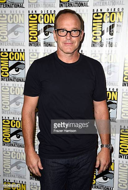 Actor Clark Gregg attends 'Marvel's Agents Of SHIELD' 'Marvel's Agent Carter' during ComicCon International 2014 at Hilton Bayfront on July 25 2014...