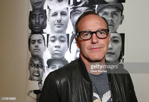 Actor Clark Gregg attends Street Poets 20th Anniversary Celebration Event at Smashbox Studios on May 9 2015 in Culver City California