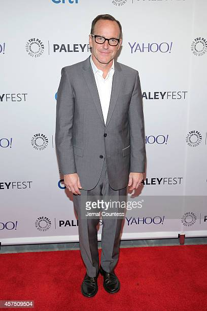 Actor Clark Gregg attends the 'Marvel Agents Of SHIELD' premiere and panal discussion during the 2nd Annual Paleyfest New York at Paley Center For...