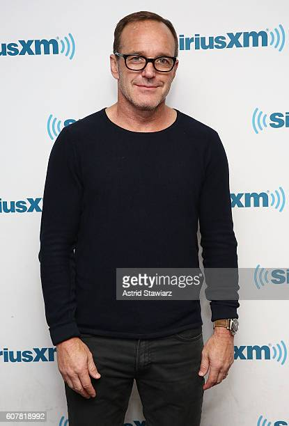 Actor Clark Gregg visits the SiriusXM Studios on September 19 2016 in New York City