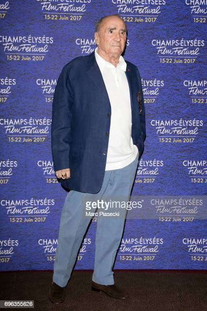 Actor Claude Brasseur attends the 6th 'ChampsElysees Film Festival' at Cinema Gaumont Marignan on June 15 2017 in Paris France
