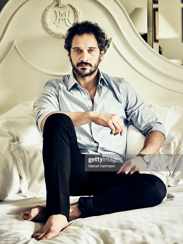 Actor Claudio Santamaria is photographed for Vanity Fair Italy on April 7, 2016 in Rome, Italy.