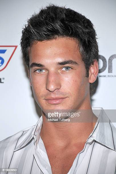 Actor Clay Adler arrives at the BPM Culture Magazine 12Year Anniversary party held at the Avalon nightclub on July 16 2008 in Los Angeles California