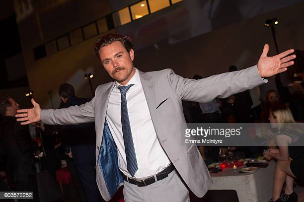Actor Clayne Crawford attends the after party for the premiere of Fox Network's 'Lethal Weapon' at NeueHouse Hollywood on September 12 2016 in Los...