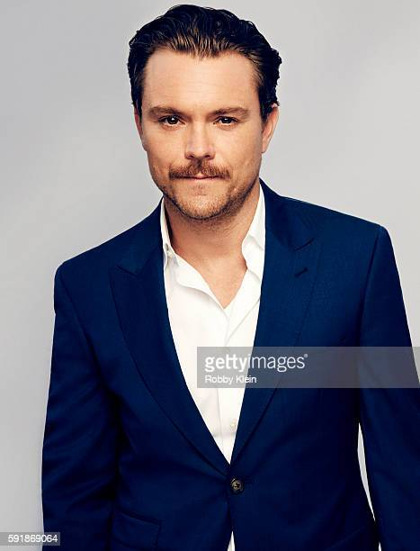 Actor Clayne Crawford from FOX's 'Lethal Weapon' poses for a portrait at the FOX Summer TCA Press Tour at Soho House on August 9 2016 in Los Angeles...
