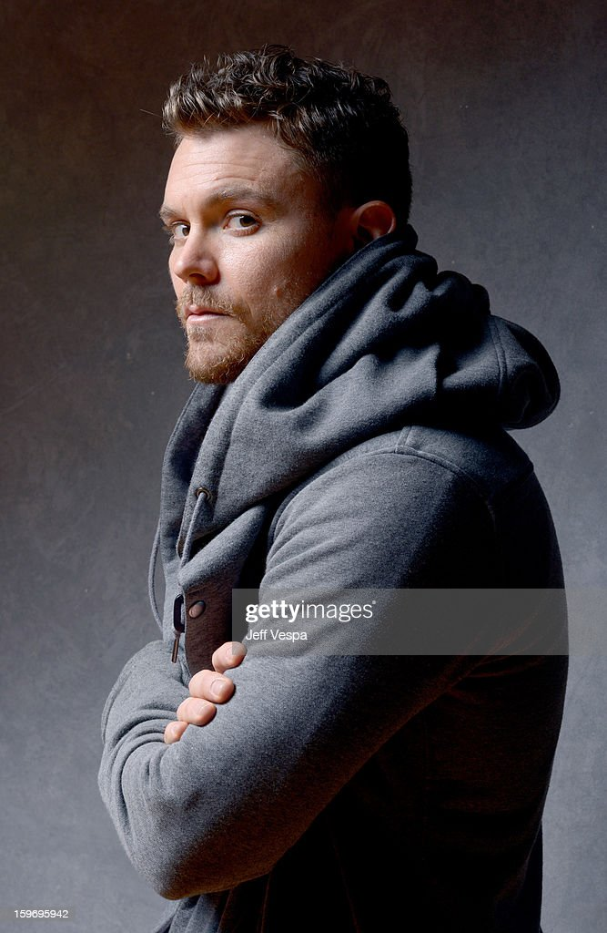 Actor Clayne Crawford poses for a portrait during the 2013 Sundance Film Festival at the WireImage Portrait Studio at Village At The Lift on January 18, 2013 in Park City, Utah.