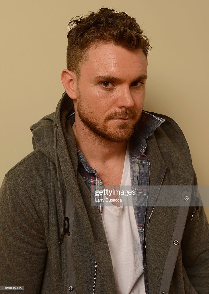Actor Clayne Crawford poses for a portrait during the 2013 Sundance Film Festival at the Getty Images Portrait Studio at Village at the Lift on January 18, 2013 in Park City, Utah.