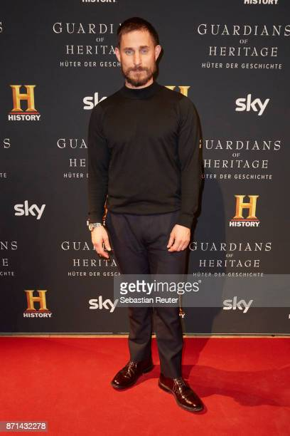 Actor Clemens Schick attends the preview screening of the new documentary 'Guardians of Heritage Hueter der Geschichte' by German TV channel HISTORY...