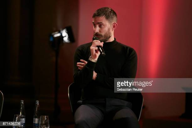 Actor Clemens Schick is seen at the preview screening of the new documentary 'Guardians of Heritage Hueter der Geschichte' by German TV channel...