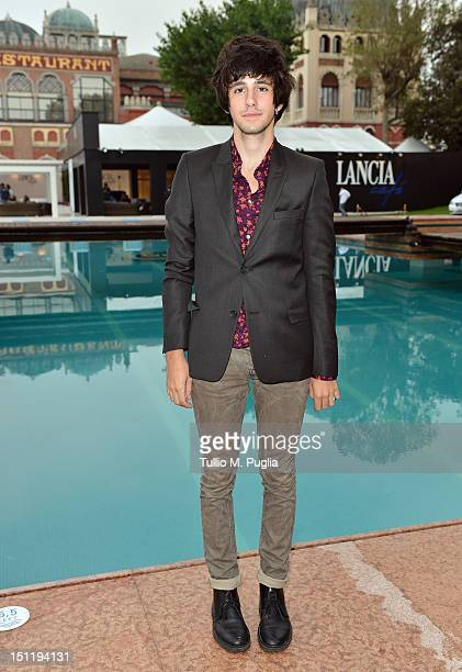 Actor Clement Metayer attends the 69th Venice Film Festival at Lancia Cafe on September 3 2012 in Venice Italy