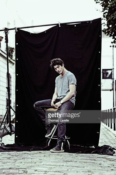 Actor Clement Sibony is photographed for Self Assignment on October 23 2013 in Paris France