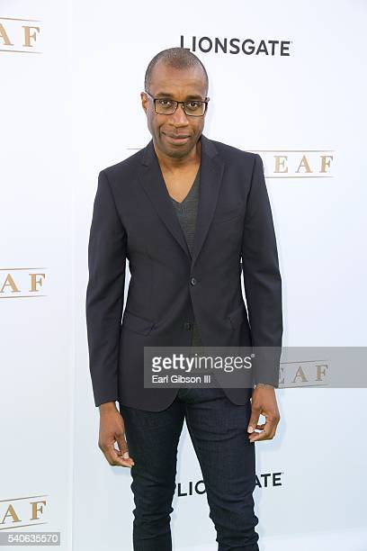 Actor Clement Virgo attends the premiere of OWN's 'Greenleaf' at The Lot on June 15 2016 in West Hollywood California