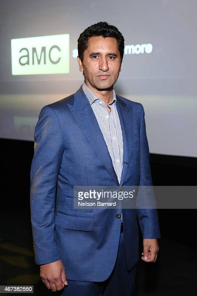 Actor Cliff Curtis attends the AMC Ad Sales Event celebrating AMC's 'The Walking Dead' at The Highline Ballroom on March 23 2015 in New York City