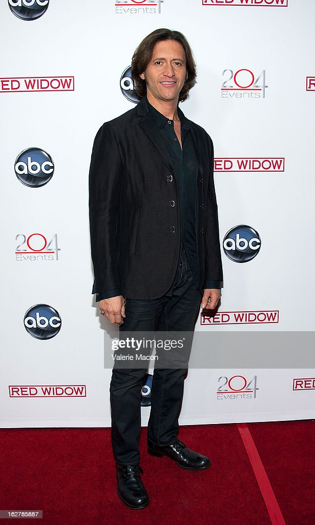 Actor Clifton Collins attends ABC's 'Red Widow' Red Carpet Event at Romanov Restaurant Lounge on February 26, 2013 in Studio City, California.