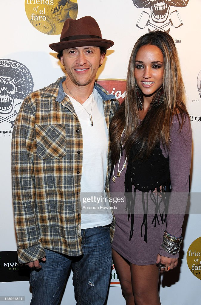 Actor <a gi-track='captionPersonalityLinkClicked' href=/galleries/search?phrase=Clifton+Collins+Jr.&family=editorial&specificpeople=540063 ng-click='$event.stopPropagation()'>Clifton Collins Jr.</a> (L) and model Megan Ozurovich arrive at the 8th Annual Cinco de Mayo Benefit With Charity Celebrity Poker Tournament at Velvet Margarita Cantina on May 5, 2012 in Hollywood, California.