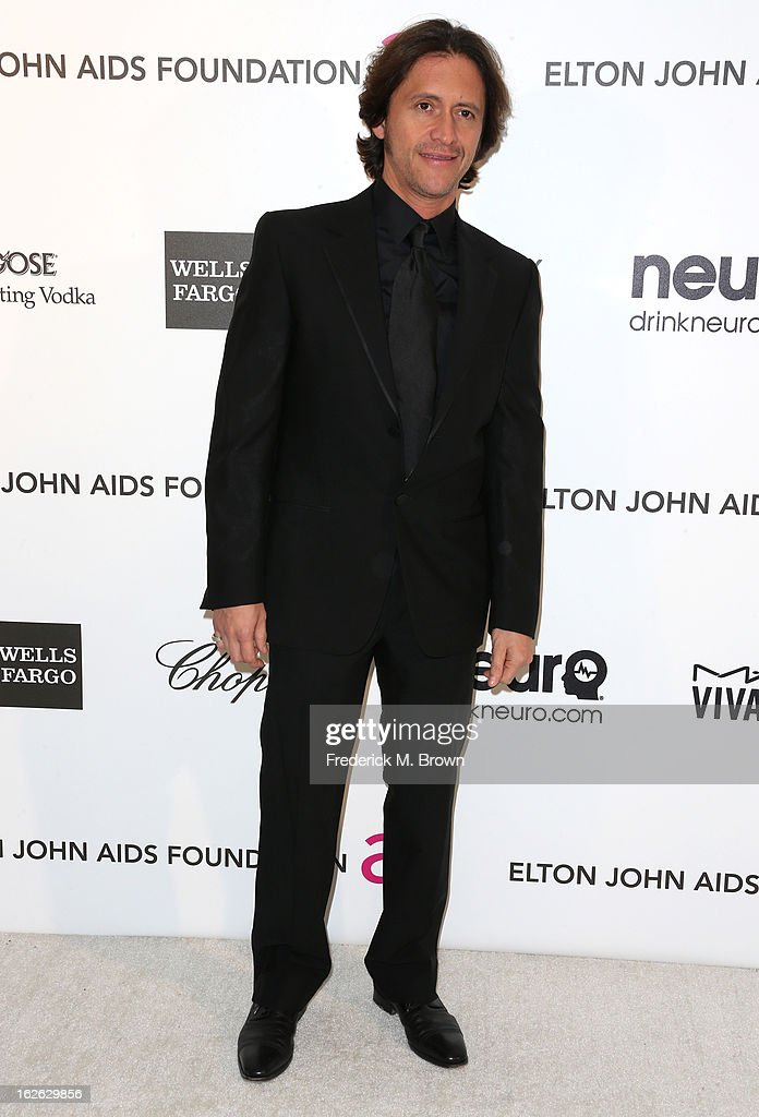 Actor Clifton Collins Jr. arrives at the 21st Annual Elton John AIDS Foundation's Oscar Viewing Party on February 24, 2013 in Los Angeles, California.