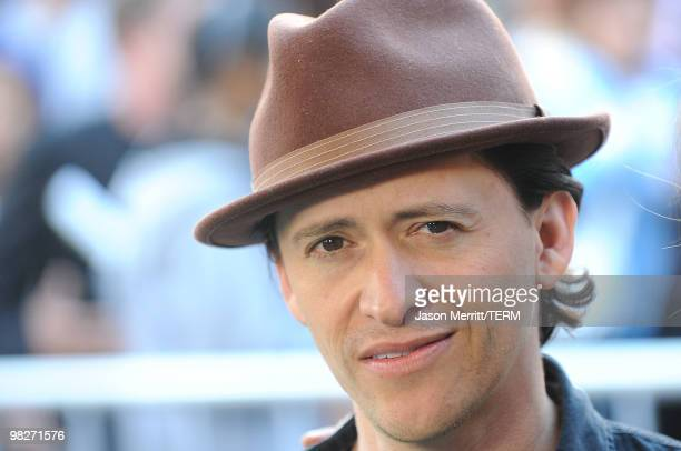 Actor Clifton Collins Jr arrives at the Los Angeles premiere of 'The Perfect Game' in the Pacific Theaters at the Grove on April 5 2010 in Los...