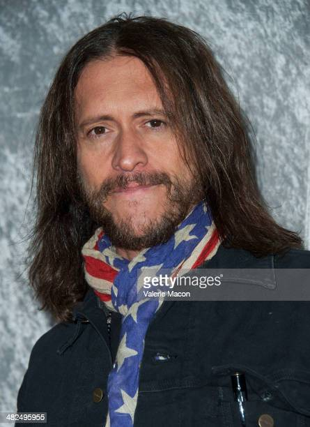 Actor Clifton Collins Jr arrives at the Premiere Of HBO's 'Silicon Valley' at Paramount Studios on April 3 2014 in Hollywood California