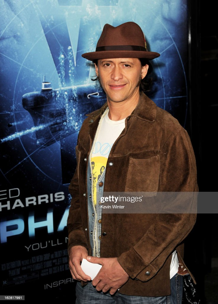 Actor Clifton Collins, Jr. arrives at the premiere of 'Phantom' at the Chinese Theater on February 27, 2013 in Los Angeles, California.