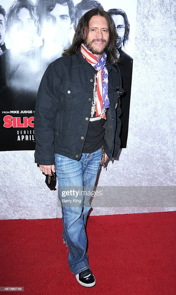 Actor Clifton Collins Jr. arrives at the premiere of 'Silicon Valley' on April 3, 2014 at Paramount Studios in Hollywood, California.
