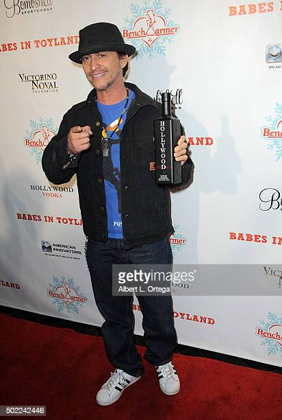 Actor Clifton Collins Jr arrives for the 2015 Babes In Toyland And BenchWarmer Charity Toy Drive held at Avalon on December 9 2015 in Hollywood...