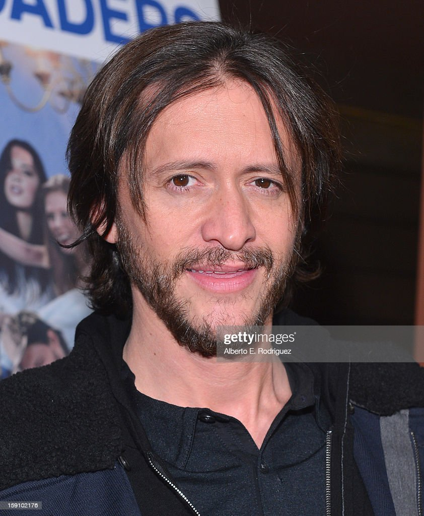 Actor Clifton Collins Jr. arrives to the premiere of Salient Media's 'Freeloaders' at Sundance Cinema on January 7, 2013 in Los Angeles, California.