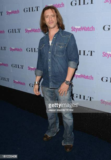 Actor Clifton Collins Jr attends People StyleWatch Denim Awards presented by GILT at Palihouse on September 19 2013 in West Hollywood California