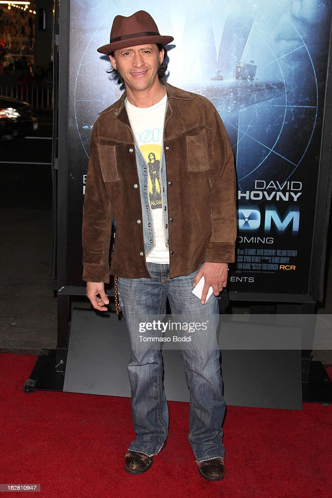 Actor Clifton Collins, Jr. attends the 'Phantom' Los Angeles premiere held at the TCL Chinese Theatre on February 27, 2013 in Hollywood, California.