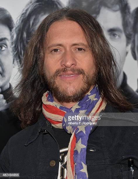 Actor Clifton Collins Jr attends the Premiere of HBO's 'Silicon Valley' at Paramount Studios on April 3 2014 in Hollywood California