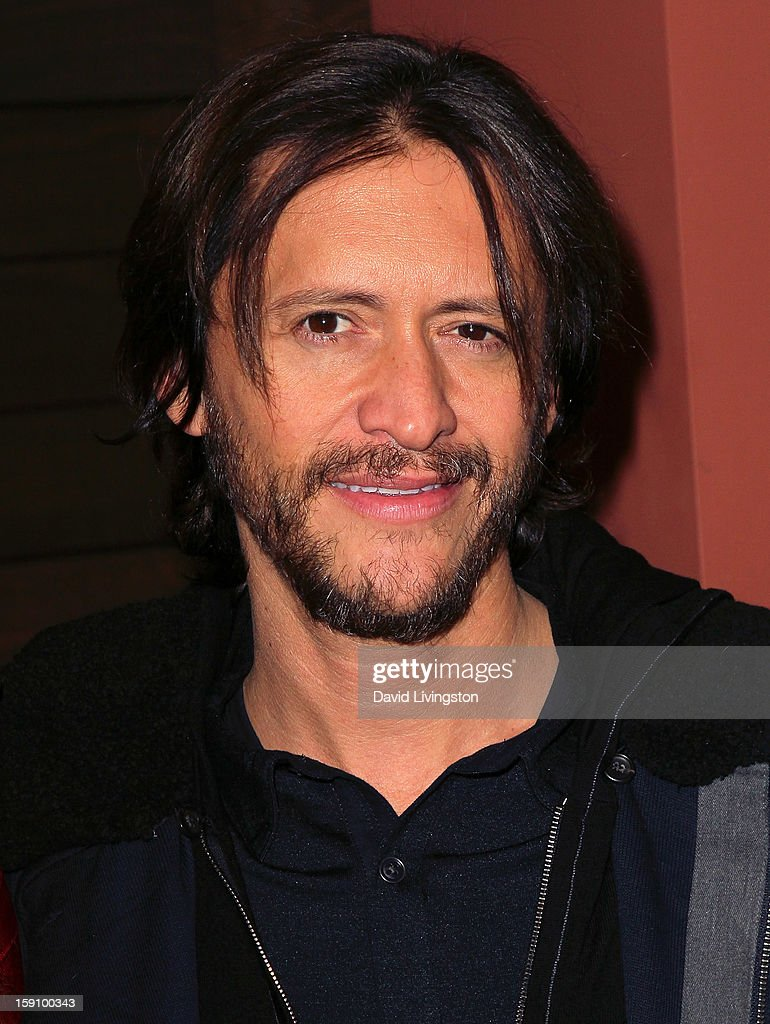 Actor Clifton Collins Jr. attends the premiere of Salient Media's 'Freeloaders' at Sundance Cinema on January 7, 2013 in Los Angeles, California.