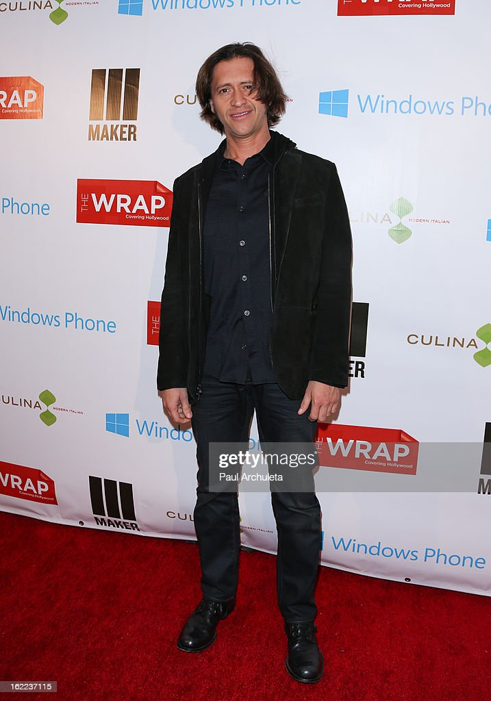 Actor Clifton Collins Jr. attends TheWrap 4th annual Pre-Oscar Party at the Four Seasons Hotel Los Angeles at Beverly Hills on February 20, 2013 in Beverly Hills, California.