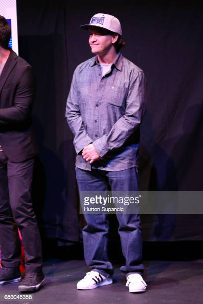Actor Clifton Collins Jr speaks onstage at the premiere of 'MFA' during 2017 SXSW Conference and Festivals at Stateside Theater on March 13 2017 in...