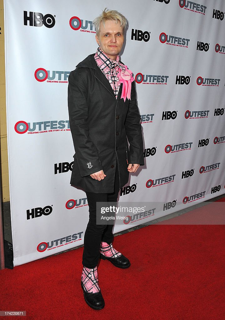 Actor Clint Catalyst arrives at the 2013 Outfest Film Festival closing night gala of 'G.B.F.' at the Ford Theatre on July 21, 2013 in Hollywood, California.