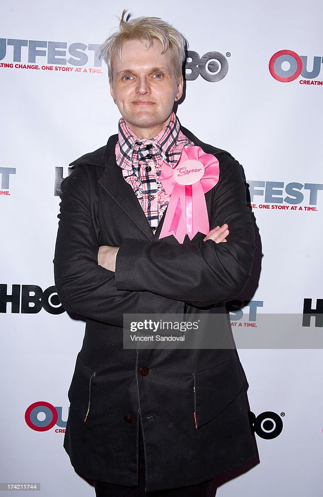 Actor Clint Catalyst attends the 2013 Outfest Film Festival closing night gala of 'G.B.F.' at Ford Theatre on July 21, 2013 in Hollywood, California.
