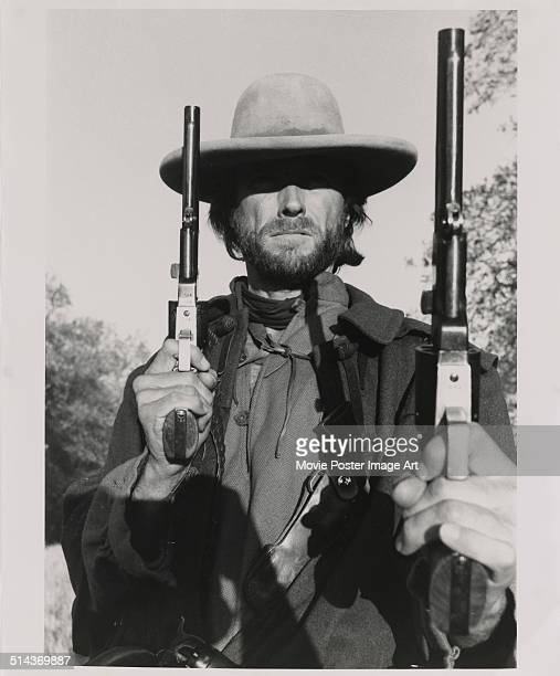 Actor Clint Eastwood as he appears in the movie 'The Outlaw Josey Wales' 1976
