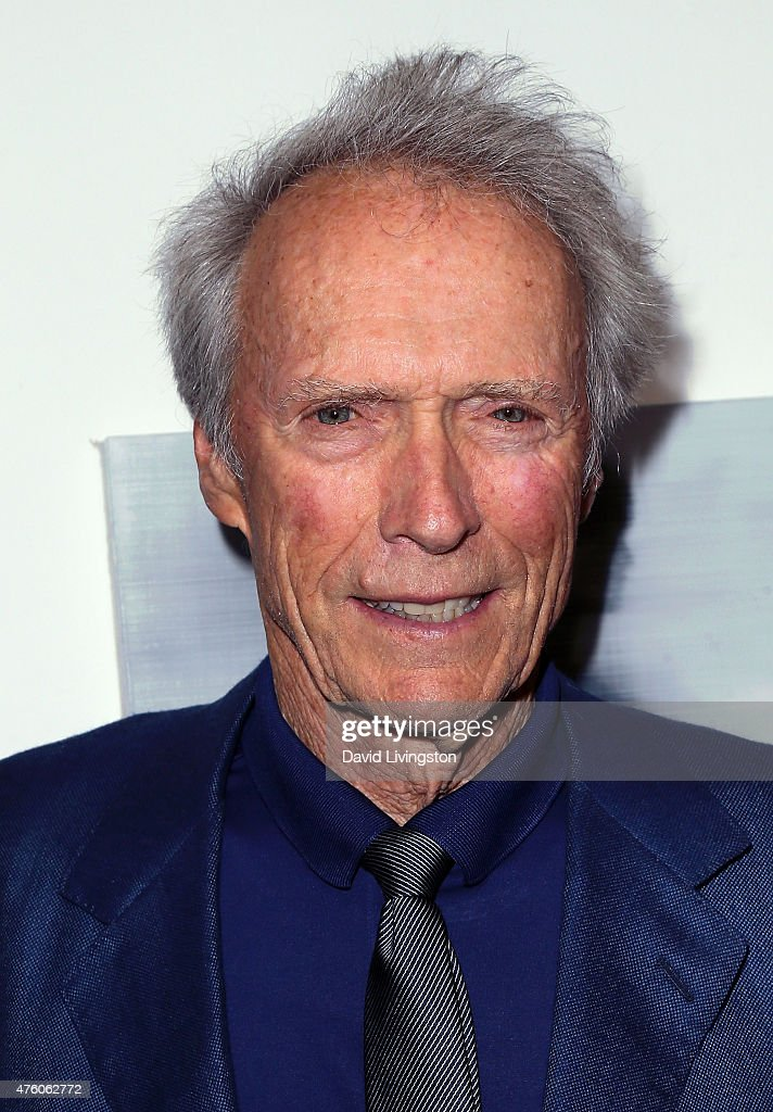 Actor Clint Eastwood attends the Art for Animals fundraiser art event hosted by Alison Eastwood at De Re Gallery on June 5, 2015 in West Hollywood, California.
