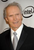 Actor Clint Eastwood recipient of the Milestone Award arrives at the 2006 Producers Guild awards held at the Universal Hilton on January 22 2006 in...