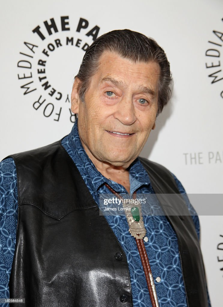 Actor Clint Walker attends retro TV action-adventure-thon at The Paley Center for media on September 22, 2012 in Beverly Hills, California.