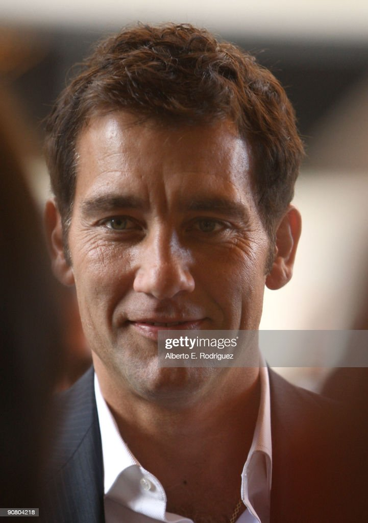Actor Clive Owen arrives at the 'The Boys Are Back' screening during the 2009 Toronto International Film Festival held at the Visa Screening Room at...