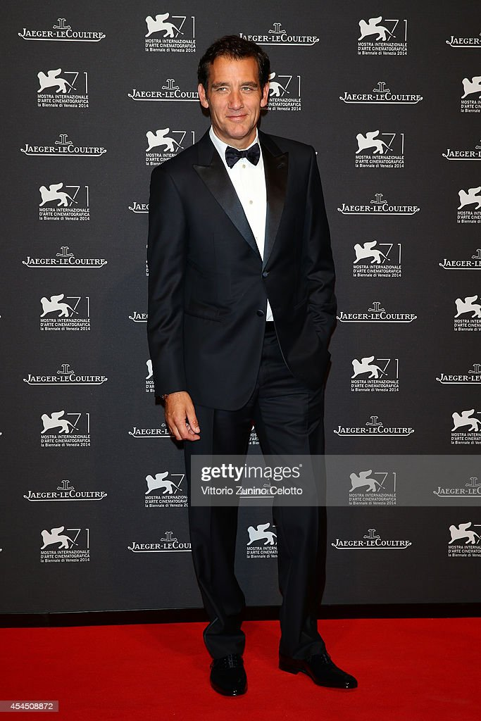 Actor Clive Owen arrives wearing a JaegerLeCoultre watch for a gala dinner hosted by JaegerLeCoultre at Scuola Grande di San Rocco during the 71st...